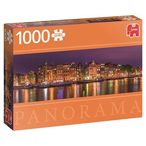 Amsterdam Skyline - 1000 Teile Panorama Puzzle