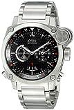 Oris Men's 690 7615 4154 MB BC4 Flight Timer Analog Display Automatic Self Wind Silver Watch