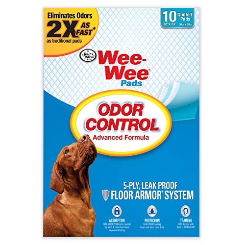Four Paws Wee-Wee Odor Control Training Pads 10 Count Standard 22