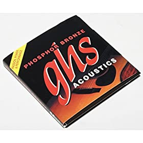 .011 .014 .020 .030 .040 .048.011 .014 .009 .012 .016 .026 - Juego / Guitarra Acústica 12-cuerdasSuavePhosphor Bronze WoundRoundwoundHexagonal CoreMade in USA