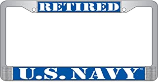 Best retired navy license plate frame Reviews
