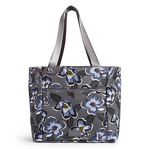 Vera Bradley Recycled Lighten Up Reactive Drawstring Family Tote Bag, Blooms Shower