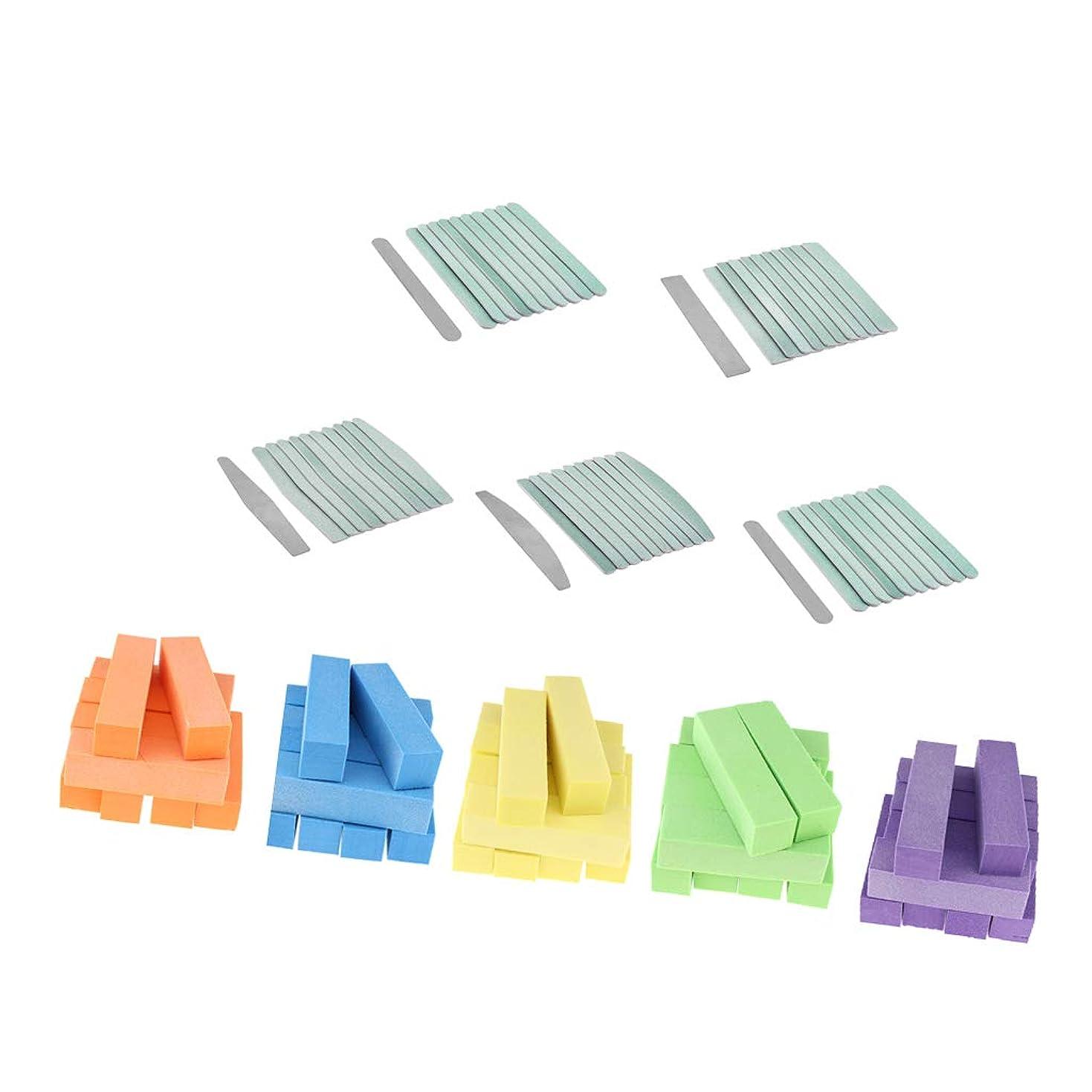 操作繁雑子供っぽいPerfeclan ネイル研磨ファイル 研磨ブロック 爪やすり サンディングバンド マニキュアツール