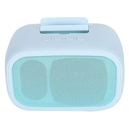 Altavoz inalámbrico, altavoz potente del altavoz del soporte del teléfono de Bluetooth 5.0, para el viaje del hogar del dormitorio(blue)