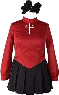 Women's Plus Size Rin Tohsaka Cosplay Costume