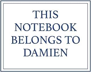 This Notebook Belongs to Damien
