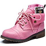 DailyShoes Womens Gray Combat Boots Ankle Pocket Boot...