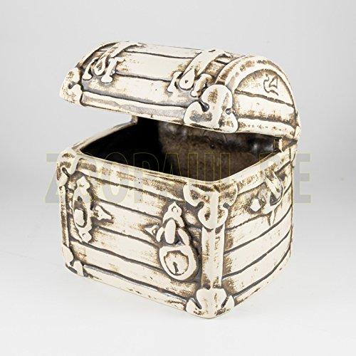Aquarium Decoratie keramische kist kist schat hol vissen nieuw