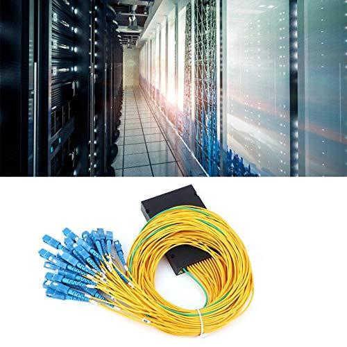 Clasken Módulo divisor de fibra, PLC 1x32 empresas para cableado doméstico de proyectos de ingeniería LAN de fibra óptica
