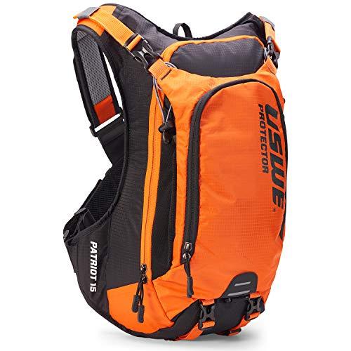 USWE Sports Sac à Dos Unisexe Patriot 15 Protection Orange L