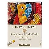 Sennelier Oil Color Pastel Pad, 11.75' x 15', White