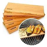 Planches à fumer de 6 paquets en bois de cèdre canadien véritable - 3 paquets ou 6 paquets -...