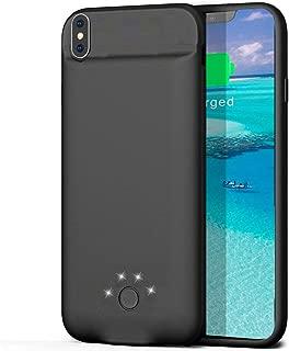 JOYZON バッテリー ケース 3800mAh 大容量 iPhone X/Xs /10 兼用 充電器 軽量 薄型 耐衝撃 バッテリー内蔵ケース 急速充電 全面保護ケース 超便利 車載ホルダー対応 iPhoneケース型バッテリー (iPhone X/Xs /10)