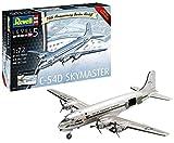 Revell-C-54D Skymaster 70th Anniversary Berlin Airlift, edición Limitada, Kit de Modelo, Escala 1:72 Incluye Calendario 2019 y póster (3910) (03910), 40,1