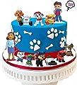 Muñecos patrulla canina,Caricatura Cake Topper/Mini Juego de Figuras, Topper de Tarta Decoración para Pasteles, Fiesta de Cumpleaños DIY Decoración Suministros(12PCS) por Guizu