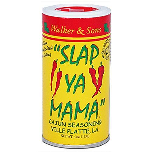 Slap Ya Mama All Natural Cajun Seasoning from Louisiana, Original Blend, MSG Free and Kosher, 4 Ounce