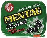 Mental Fassi Pasticche senza Zucchero alla Menta Liquirizia - Pacco da 24 x 540 g