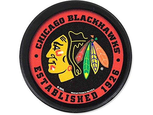 WinCraft NHL Chicago Blackhawks Packaged Hockey Puck