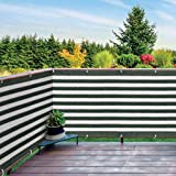 IdeaWorks New Deck & Fence Privacy Durable Waterproof Netting Screen with Grommets and Reinforced Seams (Green)
