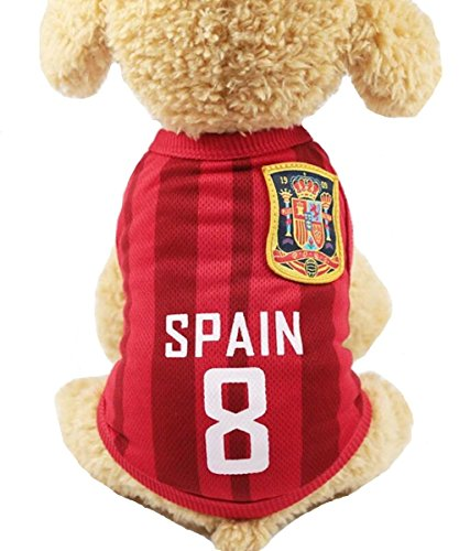 Camiseta De Fútbol España  marca Anytec-Pet