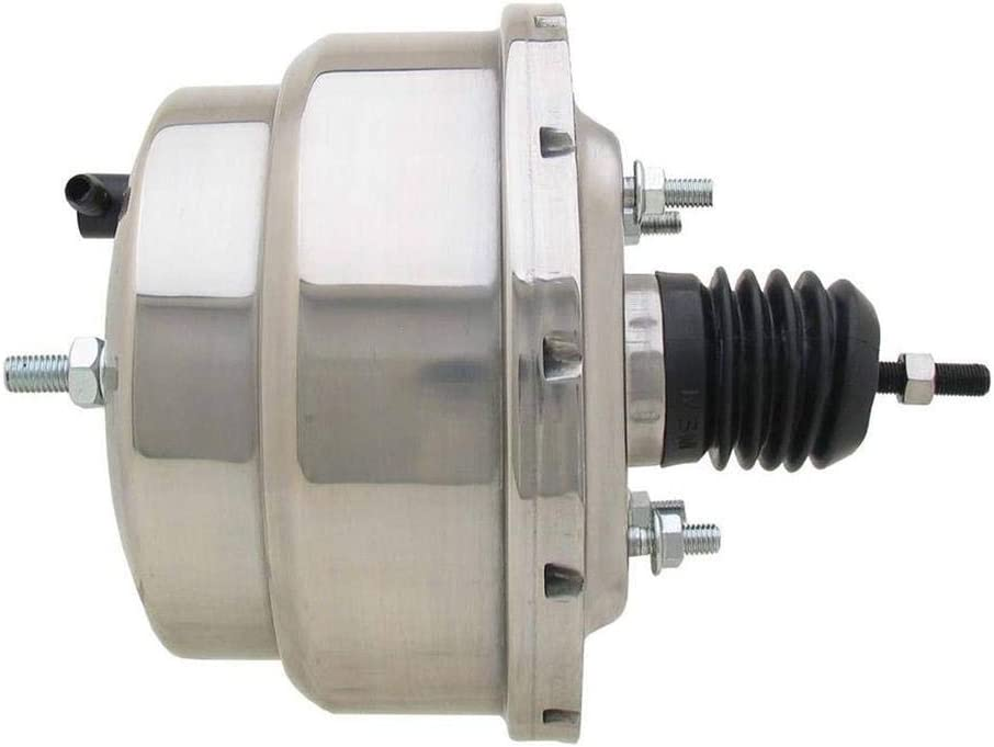 Dual Diaphragm Power Brake Inch Financial sales sale Max 42% OFF 8 Chrome Booster