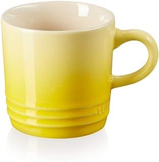 Le Creuset Mugg med handtag, 200 ml, stengods, 10 cm höjd, citrus (gul)