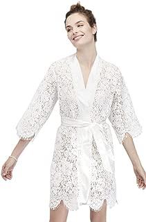 White Bridal Lace Robe Style 4715471808