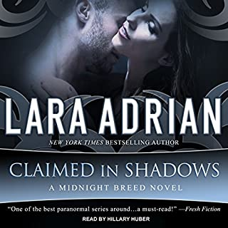 Claimed in Shadows audiobook cover art