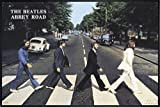 Close Up Beatles Poster Abbey Road (62x93 cm) gerahmt in:
