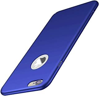 for iPhone 6s Plus/ 6 Plus case, ACMBO Minimalist [Smooth Touch Feel] Ultra Thin Slim Fit Cover with Non Slip Matte Surface Hard Cases Cover for iPhone 6 plus/6s Plus 5.5 inch, Sleek Blue