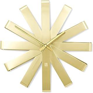 Umbra Clock, Brass,