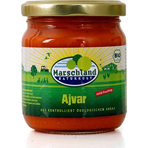 Marschland Naturkost Bio Ajvar mild (2 x 200 ml)