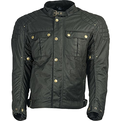 Richa Scrambler Motorcycle Jacket M Black