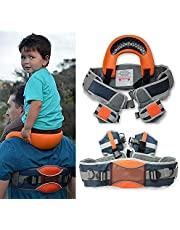D&F Saddle Baby Portabebé,Correas de Tobillo y Asiento de Cadera Acolchado,Viaje De Padres E Hijos,El Padre ya no tendrá Dolor en el Hombro