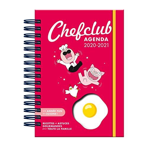 Agenda Chefclub: Une année fun en cuisine, recettes et astuces