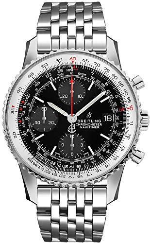 Breitling A13324121B1A1 - Reloj cronógrafo para Hombre (1 cronógrafo, Esfera Negra)