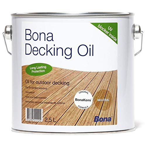Bona Decking Oil Teak 2,5 Liter