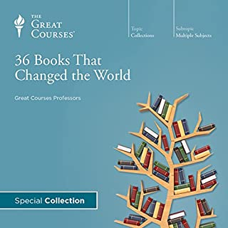 36 Books That Changed the World audiobook cover art