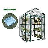 Serre transparente en PVC, tente de jardin pour intérieur ou extérieur, pour semis, culture fines herbes ou fleurs...