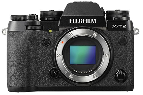 Fujifilm X-T2 Fotocamera digitale da 24 megapixel, Sensore X-Trans CMOS III APS-C, Mirino EVF 2,36MP, Schermo LCD 3
