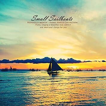 A small sailboat