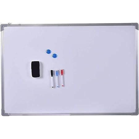 Ufficio a casa a Forma di Osso Uso Scolastico Clyhon Gomma Magnetica per Lavagna Bianca 6Psc per Aula