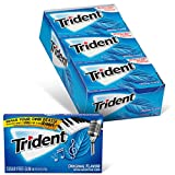 Trident Original Flavor Sugar Free Gum - with Xylitol - 12 Packs (168 Pieces Total)