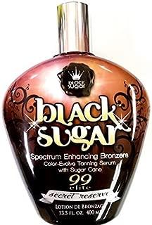 Black Sugar Secret Reserve Bronzer Indoor Tanning Lotion By Brown Sugar Tan Inc 13.5oz