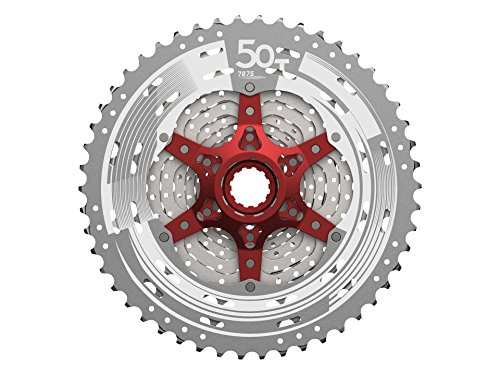 SunRace MX80 Light Cassette MTB 11V 11-50T Silver
