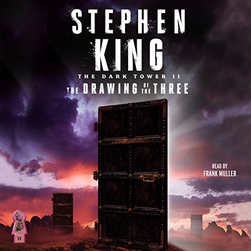 The Dark Tower II     The Drawing of the Three              Written by:                                                                                                                                 Stephen King                               Narrated by:                                                                                                                                 Frank Muller                      Length: 12 hrs and 47 mins     195 ratings     Overall 4.8