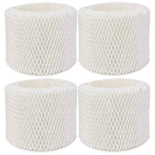 YUEFENG Humidifier Filter for Vicks & Kaz WF2 Humidifier V3100, V3500, V3500N, V3600, V3700, V3800, V3850, V3850JUV, V3900, V3900JUV, VEV320, 3020, ECM-250i, ECM-500, WA-8D, Replacement WF2 Filter (4)