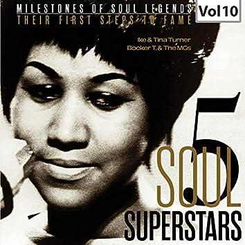Milestones of Soul Legends: Five Soul Superstars, Vol. 10