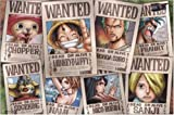 One Piece Straw Hat Crew Wanted Poster Puzzle 1000 Piece