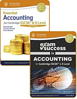Essential Accounting for Cambridge IGCSE® & O Level: Student Book & Exam Success Guide Pack